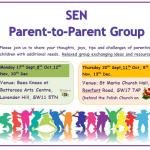 Parent to Parent Group @ Battersea Arts Centre