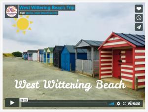 Beach trip video