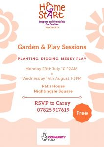Garden and Play Sessions @ Pat's House Nightingale Square