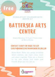 Home-Start HUB at Bees Knees Battersea Arts Centre @ Battersea Arts Centre, Bees Knees