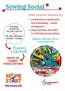 Sewing Social @ Battersea Methodist Mission